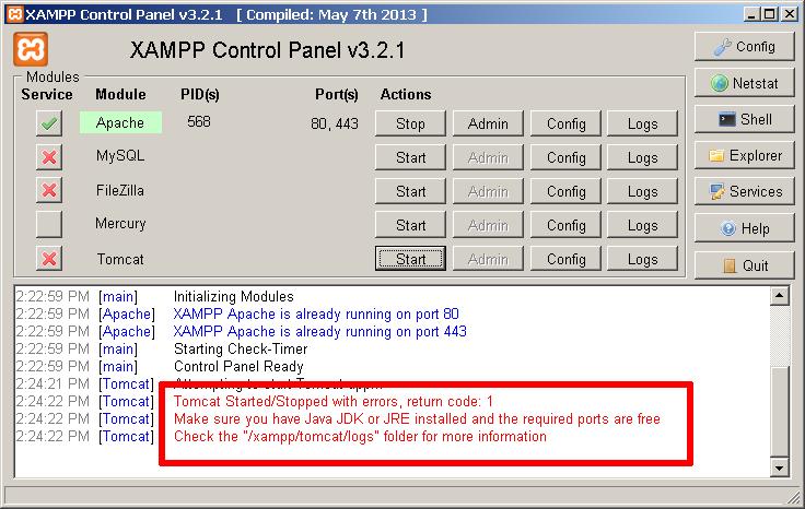 Configure and Use Apache Tomcat